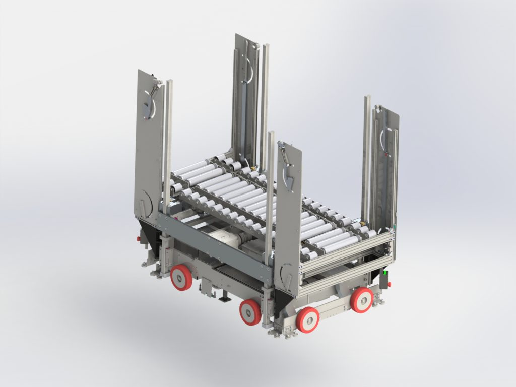Rover with conveyor